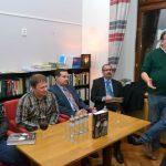 Prezentace Biografického slovníku náčelníků operativních správ StB, 30. 10. 2017 v kavárně Knihkupectví Academia