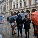 Výstava Komunismus a jeho epocha na náměstí Václava Havla v Praze