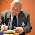 doc. Karel Schelle, hlavní editor encyklopedie