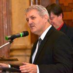 Předávání cen se zúčastnil tradičně také Ondrej Krajňák, který ještě donedávna vedl slovenský Ústav pamäti národa