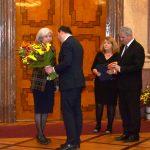 Cenu za statečné občanské postoje v době nacistické okupace a komunistické diktatury za Tugomíra Seferoviče převzala jeho manželka Eva