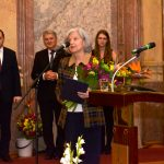 Eva Seferovičová po převzetí ocenění