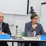 Václav Velčovský z MŠMT ČR a Lenka Pachlová za Operační program Praha - pól růstu