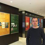 """Adam Hradilek, autor výstavy """"Za vaši a naši svobodu"""""""