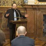 Úvodní slovo přednesl také Petr Vorel, prorektor pro vědu a tvůrčí činnost Univerzity Pardubice
