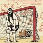 Výstava Fotbal v undergroundu, autoři komiksu Hza Bažant a Boris Jedinák