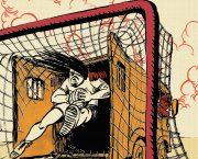 Výstava Fotbal v undergroundu na plzeňském veletrhu Svět knihy 2018