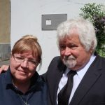 Jelena Žemkova z Memorialu s Petrem Pithartem