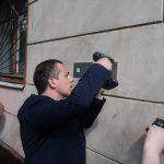 Pamětní tabulky Vladislavu Petrasovi a Ignáci Petrukovi jsou umístěny na adrese Akademika Petrovskogo 5/1 v Moskvě