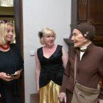 Den otevřených dveří ABS Na Struze navštívily také pěvkyně Soňa Červená (zcela vpravo) a režisérka Olga Sommerová (vlevo)