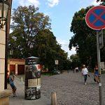Výstavní sloup na pražské Kampě