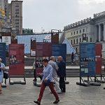 Výstava Za Vaši a naši svobodu v Kyjevě