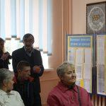 Zahájení výstavy věnované aktivitám českého Sokola v Žytomyru na Univerzitě Ivana Franka. Kromě místních historiků a archivářů zde vystoupili příbuzní obětí politických represí.