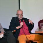 S komentářem vystoupil literární historik Petr A. Bílek