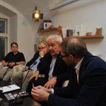 Prezentace knihy Češi a Evropa, Knihovna Václava Havla, 25. října 2018