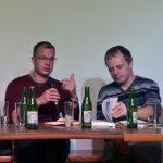 Knihu představili autoři - zleva Jan Mervart a Kamil Činátl