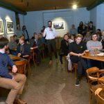 Prezentace knihy Podoby československé normalizace, 4.10. 2018, Café Kampus