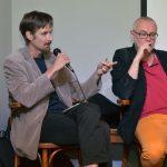 Prezentace se zúčastnil také politolog Martin Štefek.