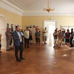 Zdeněk Hazdra - vernisáž výstavy Ve znamení tří deklarací v Kostelci nad Orlicí