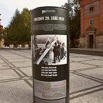 Výstavní sloup na nám. 14. října v Praze 5
