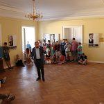 Přednášky Zdeňka Hazdry pro žáky středních škol v zámku v Kostelci nad Orlicí