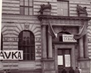 ÚSTR připomněl studentskou okupační stávku v roce 1968