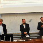 Za ÚSTR promluvil náměstek ředitele Ondřej Matějka (zcela vpravo)
