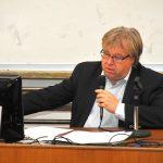 S přednáškou vystoupil historik Jaroslav Pažout
