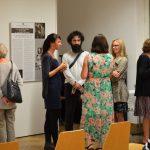 Vernisáž výstavy Ve znamení tří deklarací v Mnichově