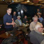 Prezentace knihy mezi Marxem a Palackým, Café NONA, 27. února 2019
