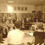 """Beseda """"V centru pozornosti: sídliště Bohnice"""", 14. března 2019, Městská knihovna - pobočka Bohnice"""