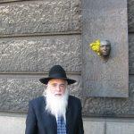 Elijahu Rips během návštěvy Prahy, duben 2009, Foto: ÚSTR / Adam Hradilek
