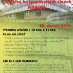 Pozvánka na Den otevřených dveří v ABS, Brno-Kanice