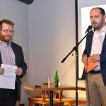 Zleva: Michal Pehr, editor publikace, a Zdeněk Hazdra