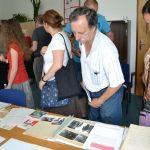 Ukázka archiválií v badatelně ABS v Praze-Braníku