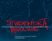 Výstava Studentská revoluce 1989 na ZŠ Švermova ve Žďáru nad Sázavou