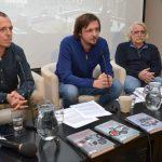 Autoři knihy: Zleva Adam Hradilek, Jan Dvořák, Jaroslav Formánek