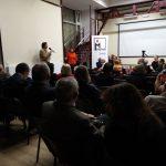 Diskuse po sérii přednášek a uvedení filmu Čechoslováci v Gulagu na půdě sdružení Memorial v Moskvě