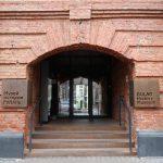 Vstup do Muzea dějin Gulagu