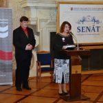Záštitu ceremoniálu udělila místopředsedkyně Senátu Miluše Horská