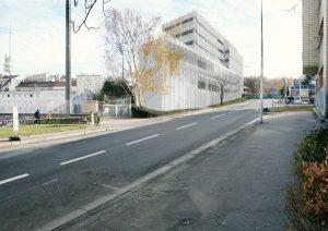navrhovaný stav - severozápadní pohled; hlavní architekt RKAW