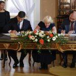 Podpis dohody o spolupráci ÚSTR, ABS a Státní archivní služby Ukrajiny