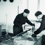 V dílně želivského kláštera. Zdroj: Archiv bezpečnostních složek