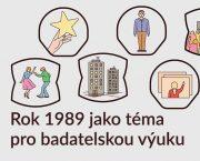 """Webinář """"Rok 1989 jako téma pro badatelskou výuku"""""""