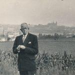 Nikolaj Bystrov zpět v Praze po návratu z Gulagu