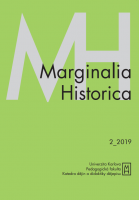 Vojtěch Ripka, Michal Sklenář (eds.): Marginalia Historica 10, číslo 2/2019