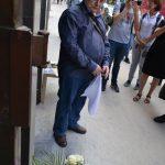 Jan Ungár u příležitosti umístění pamětní tabulky Záviši Kalandrovi