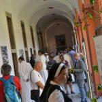 Vernisáž výstavy Nebe bylo plné hvězd v Klášteře Želiv