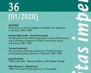 První letošní číslo časopisu Securitas Imperii je věnováno 30. výročí pádu komunistických režimů ve Východní Evropě