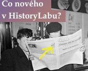 Co nového v HistoryLabu? Podívejte se na záznam webináře